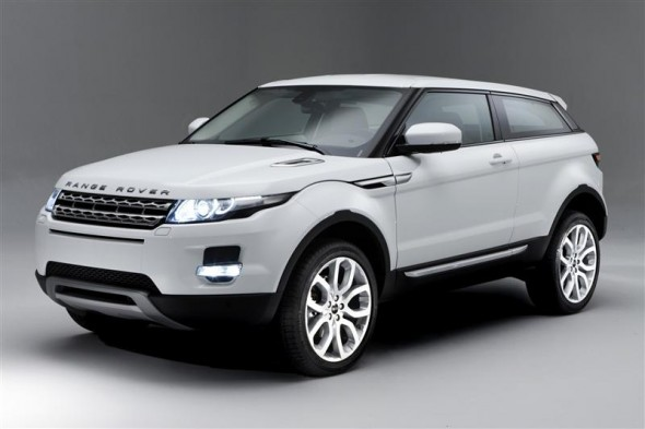 Ghosts, boats and beauty; the Range Rover Evoque