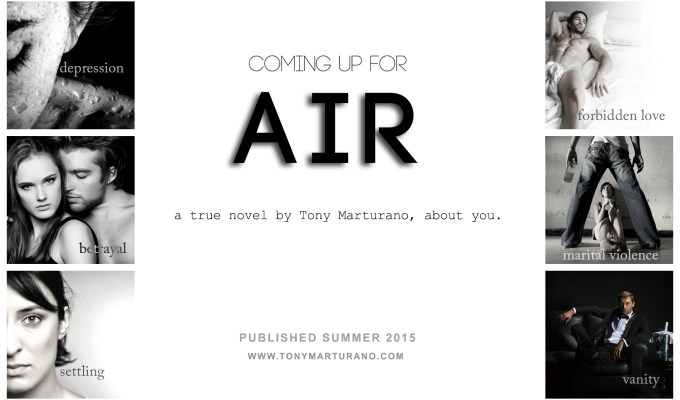 COMING UP FOR FOR AIR; DRAFT CHAPTER PEEK!