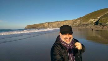 Favourite Beach; Trebarwith Strand, Cornwall