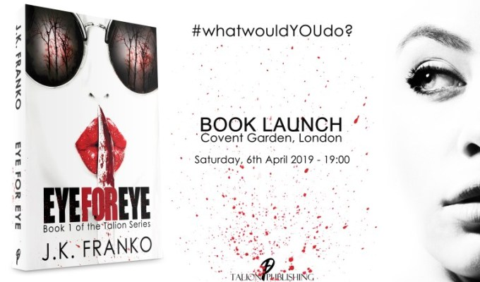 J.K. FRANKO'S SPECTACULAR LONDON BOOK LAUNCH. YOU'RE INVITED!