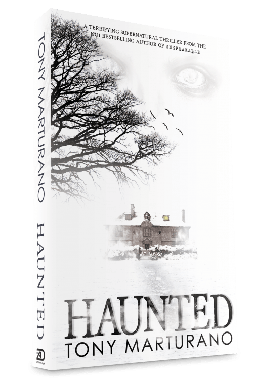 Haunted Book Cover, 1500px