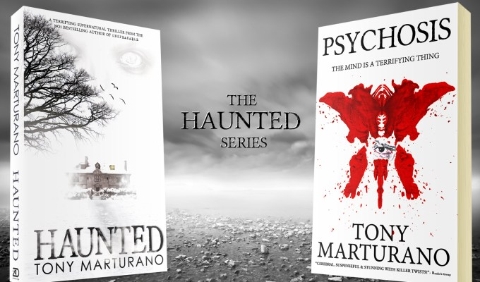 HAUNTED, THE NO1 BESTSELLER, TO GET ITS OWN SERIES