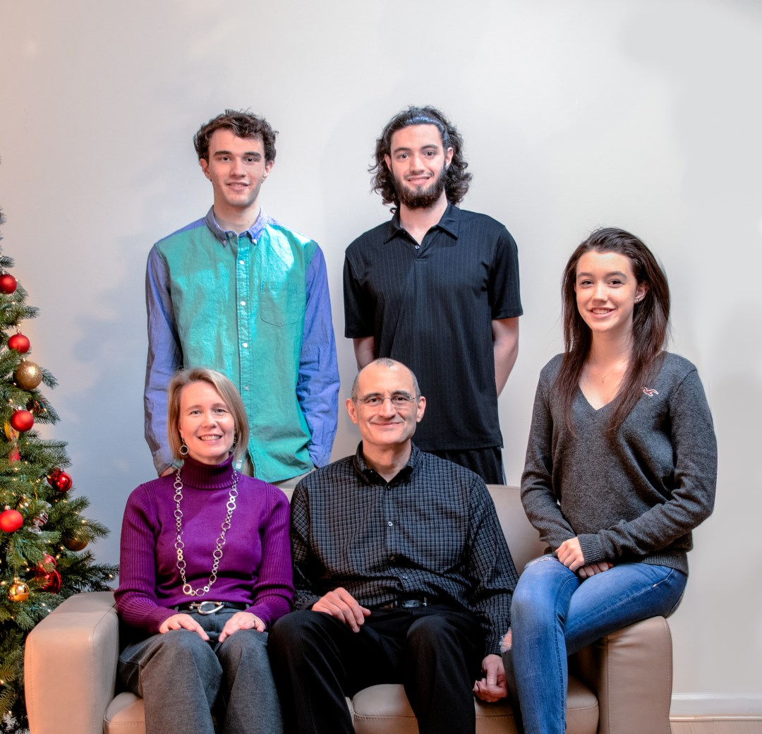 2013 Xmas Family Portrait- Composit