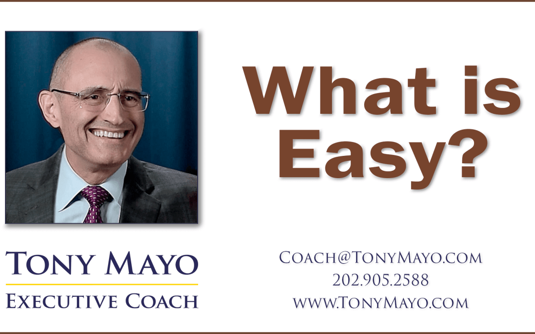 VIDEO: What is Easy?