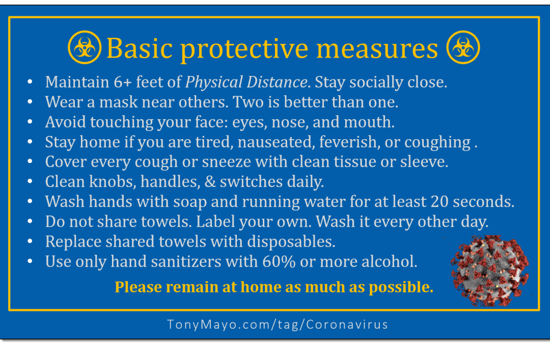 Basic Pandemic Protective Measures