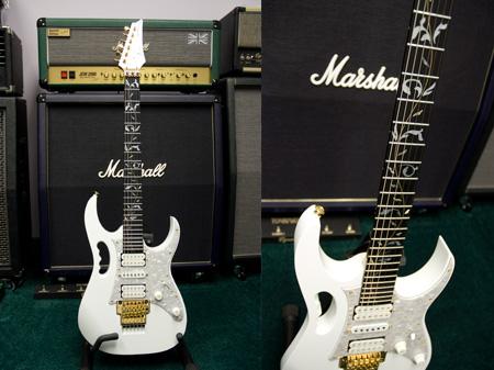 Ibanez Jem 7vwh Guitar Review Production Model