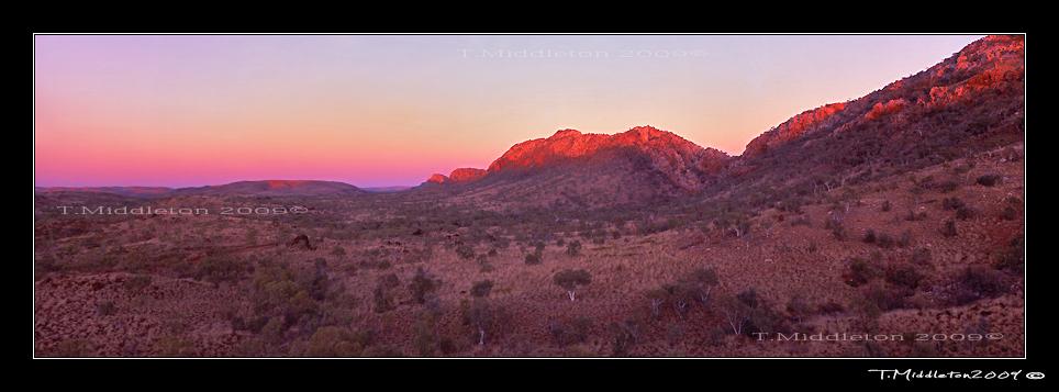outback dawn