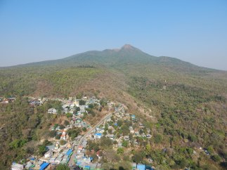 Viewing the real Mount Popa