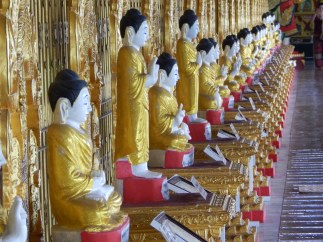 Buddha's many positions