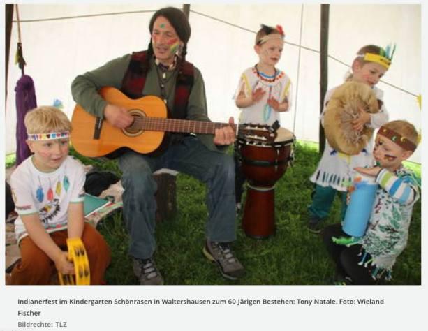Kindergarten Schönrasen, Waltershausen, 60th Year Party
