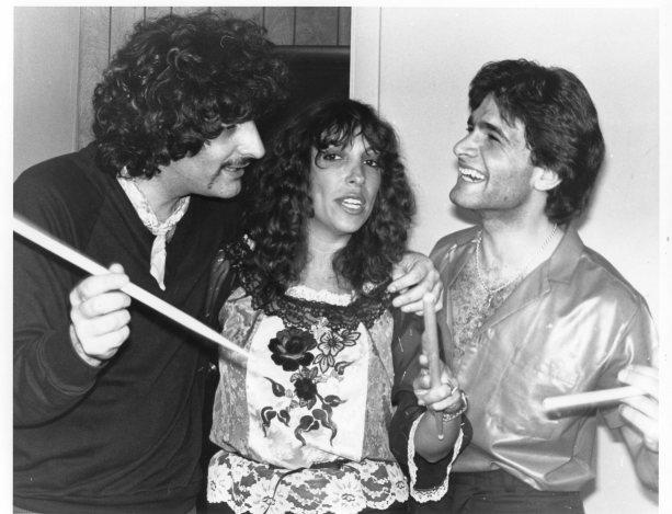 Camine Appice, Anita WMMR Disc Jockey and Tony Natale