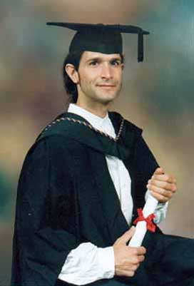 Graduation 1997 Goldsmiths College.