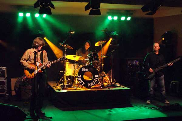 John Idan, Tony Natale, Jorg Fesser on tour in Germany.