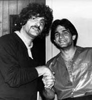 Carmine Appice congratulates Tony Natale