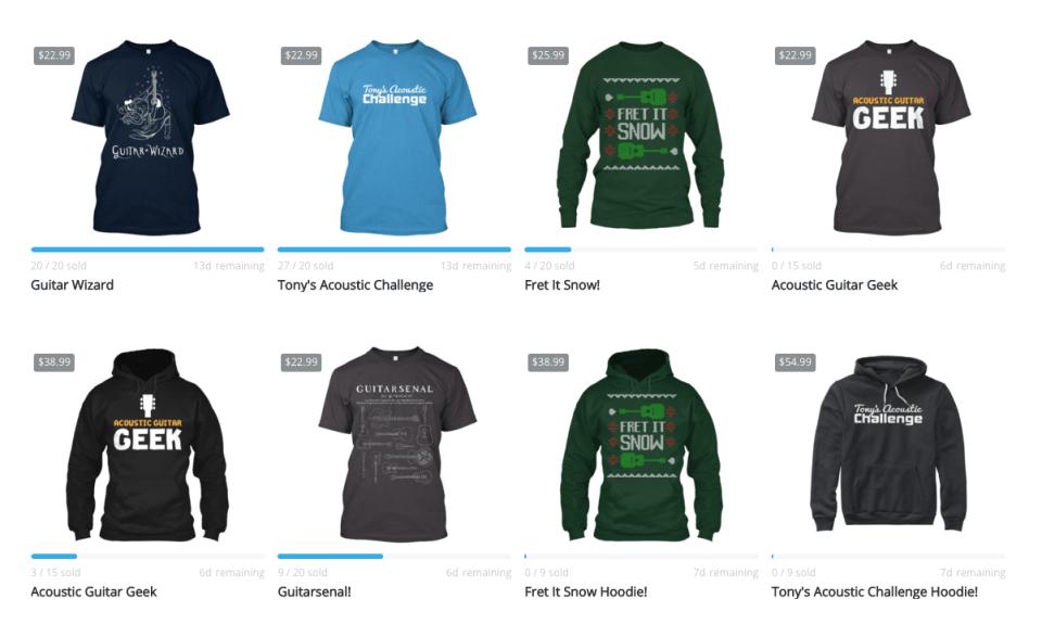 TAC Shirt Store!