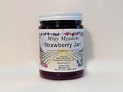 Misty Meadows Strawberry Jam