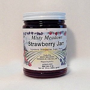 Misty Meadows Strawberry Jam