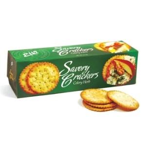 ELKI Savory Crackers, Spring Onion