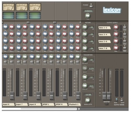 Lexicon Mixer