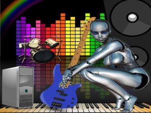 artificial music