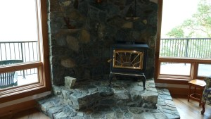 Wood Stove Surround Natural And Unique Stone Creations