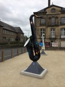 Sax Statue