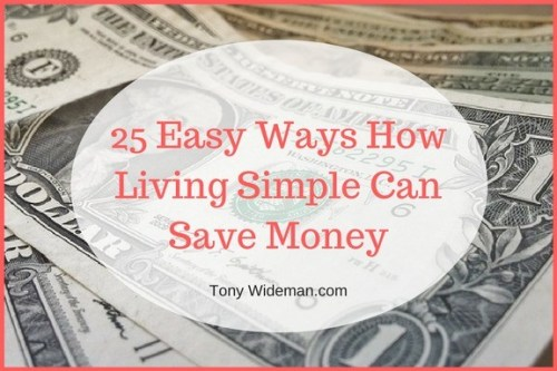 How Living Simple Can Save Money