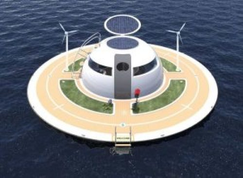 My Off Grid Living Solar Ocean Home