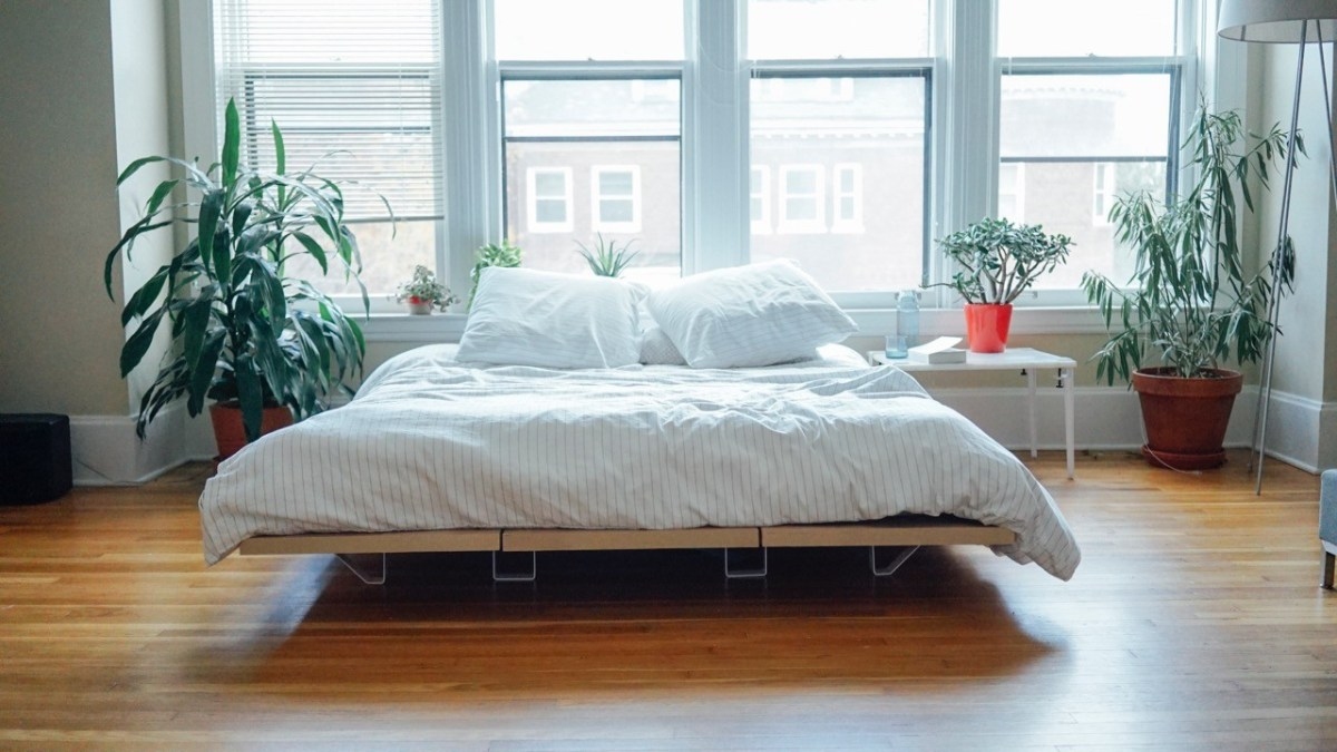Minimalist Platform Bed Design For Urban Living and A Great Nights Sleep