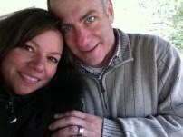 Tony & Missy at Asheville Botanical Gardens