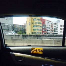 Bangkok Taxi Number
