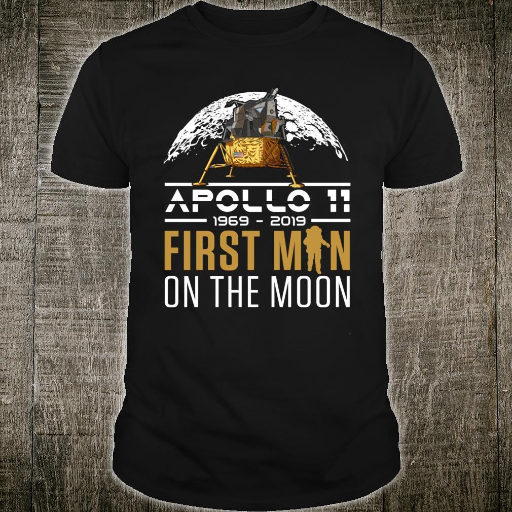 50th Anniversary Apollo 11 First Man on the Moon NASA Shirt