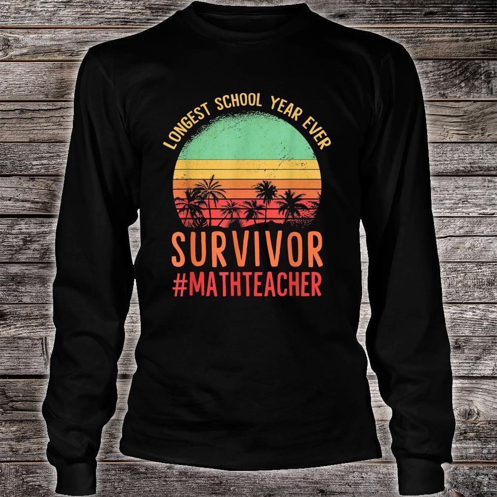 Another School Year Survivor shirt The Longest School Year Shirt long sleeved