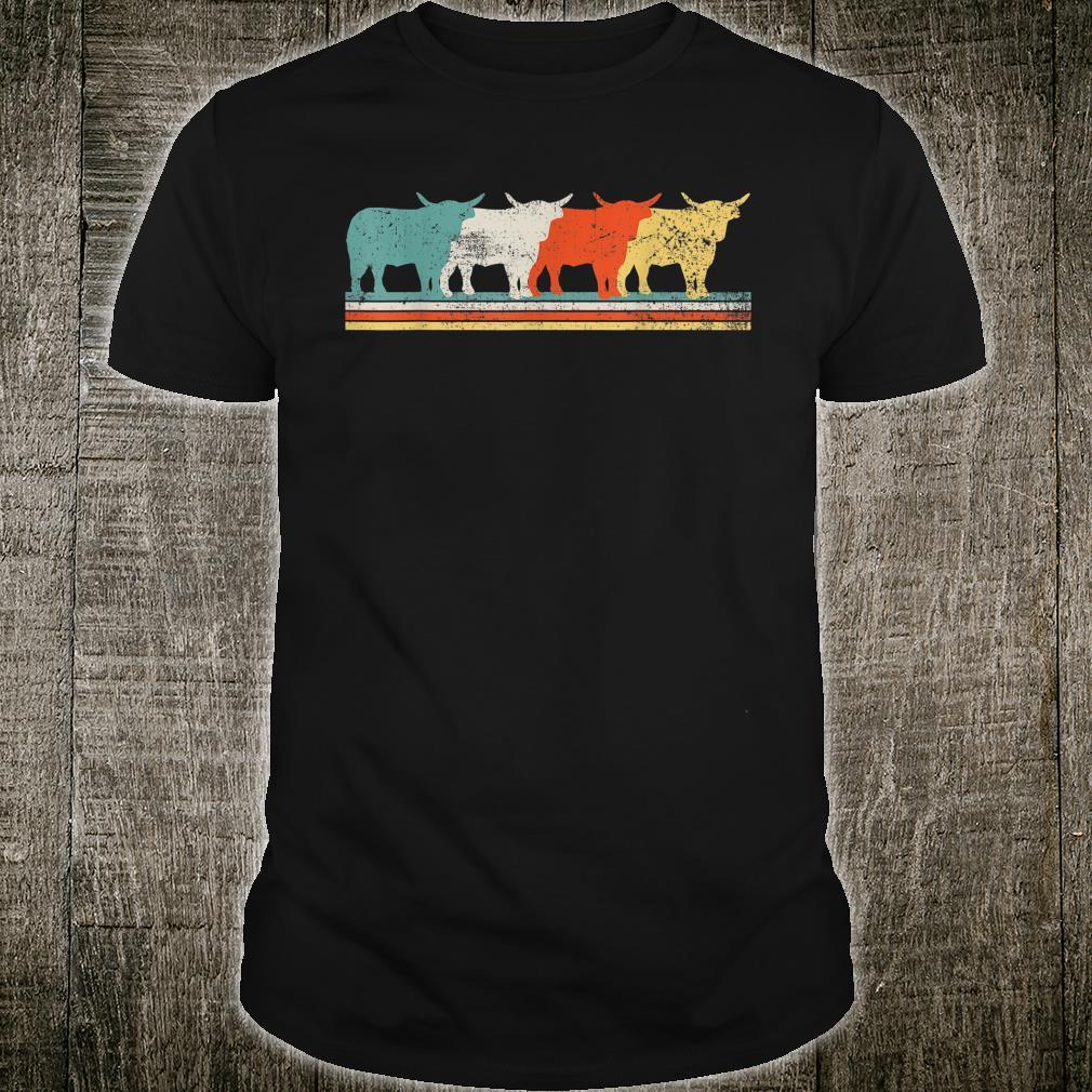 Highland Cow Scottish Vintage Shirt