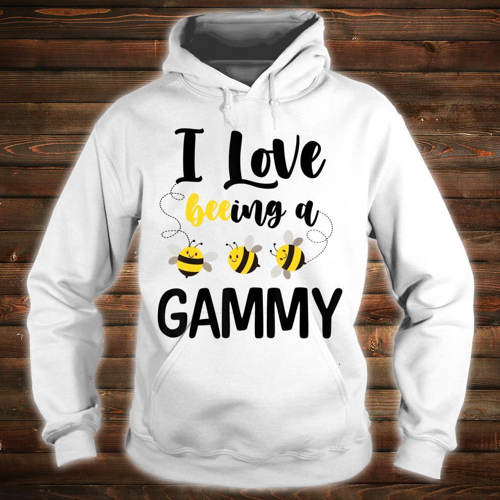 I Love Beeing A Gammy Bee Shirt hoodie