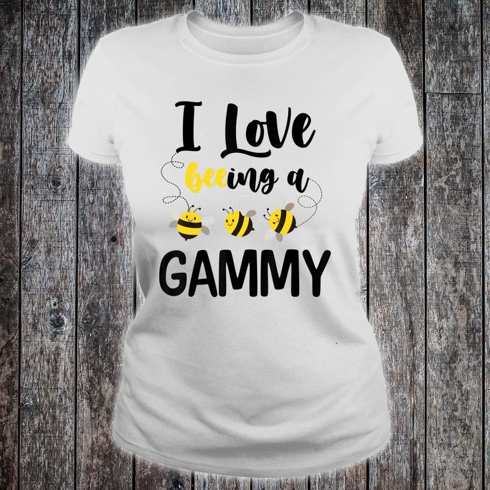 I Love Beeing A Gammy Bee Shirt ladies tee