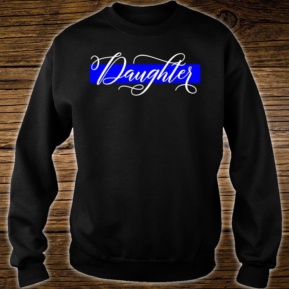 Police Officer Daughter Cop Law Enforcement Family Supplies Shirt sweater