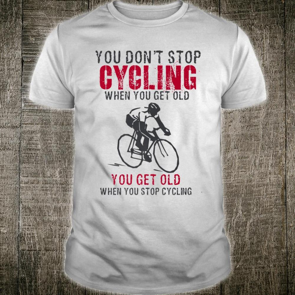 Cycling is my Therapy Funny Bike Riding Cyclist Shirt
