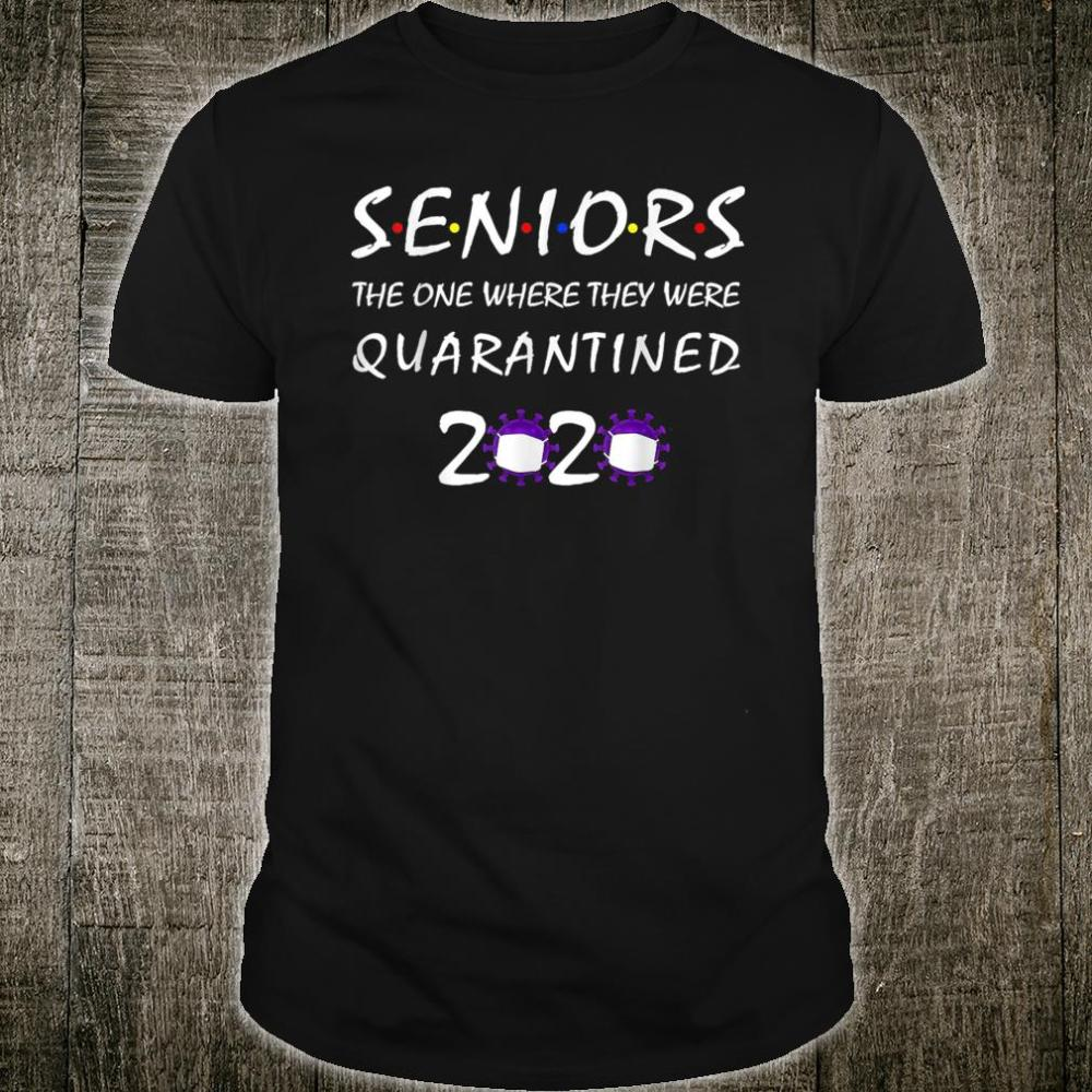 The One Where They Were Quarantined 2020 Shirt
