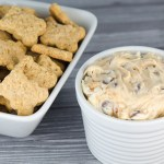 Chocolate Chip Cookie Dough and Toffee Dip