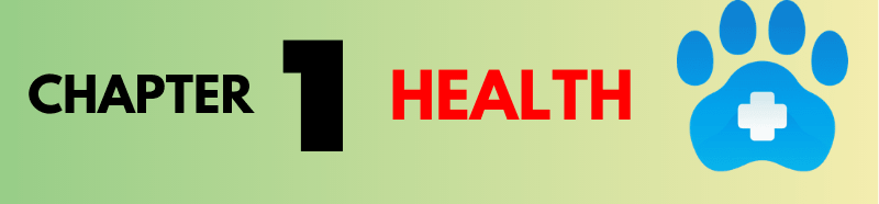 chapter 1 dog health