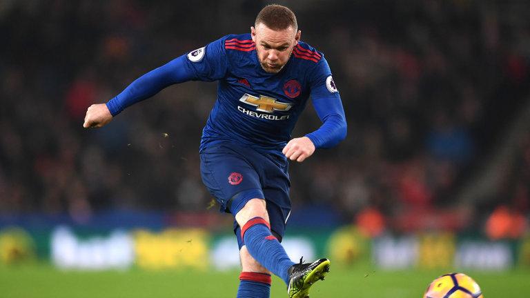 Rooney-United Leading Top Scorer