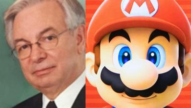 Photo of 'Real Super Mario' who inspired franchise dies