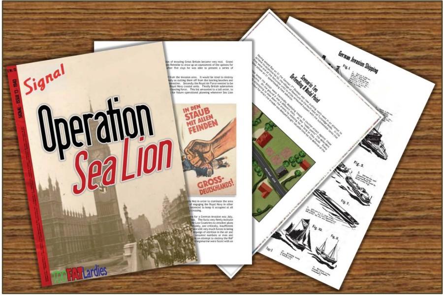 Sea Lion Contents