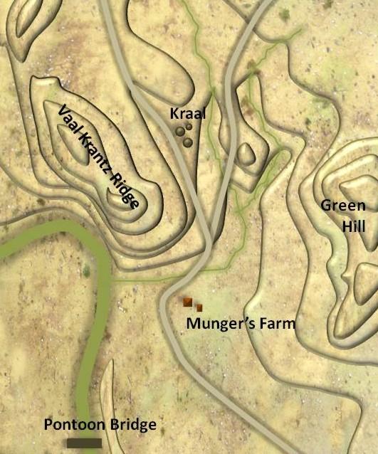 Vaalkrantz Map