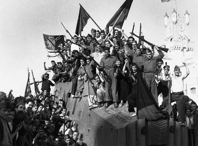 Anarchist Militia in Barcelona