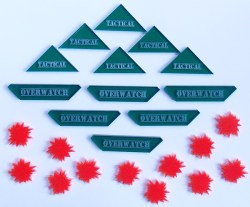 Chain of Command Game Tokens