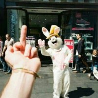 F You Easter Bunny.  And Santa.