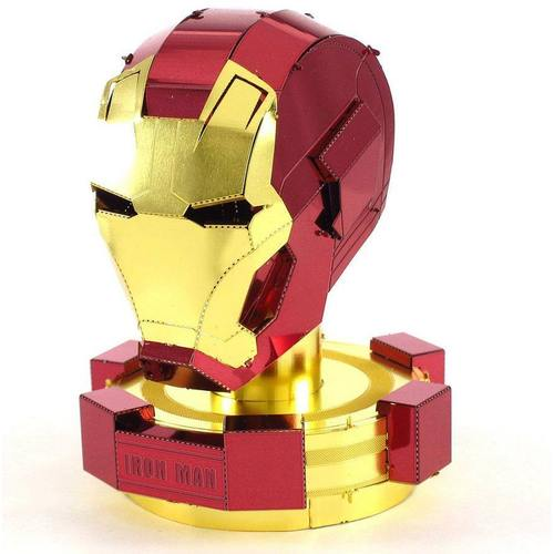 Model Kit Iron Man Fascinations Metal Earth Iron Man Marvel Helmet