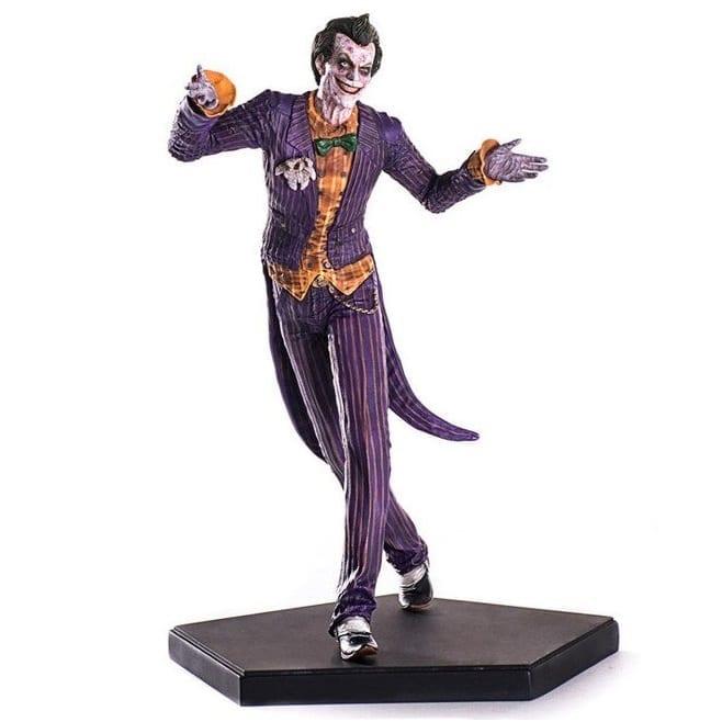 Estatuilla Joker Iron Studios Arkham Videogame Series DC Comics (The Cave)